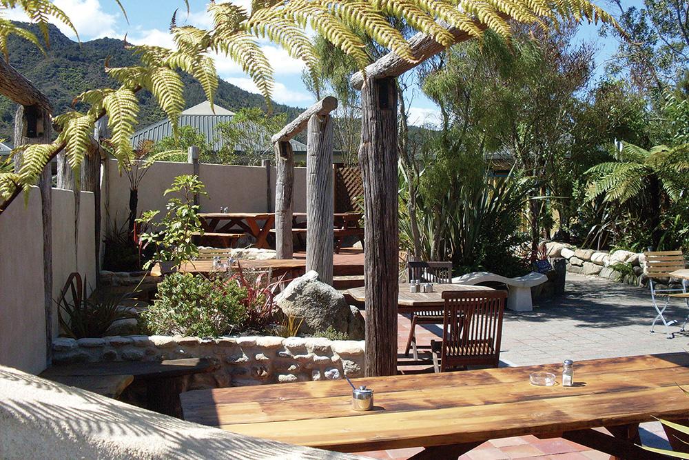 The Park Cafe, Marahau, Abel Tasman Village