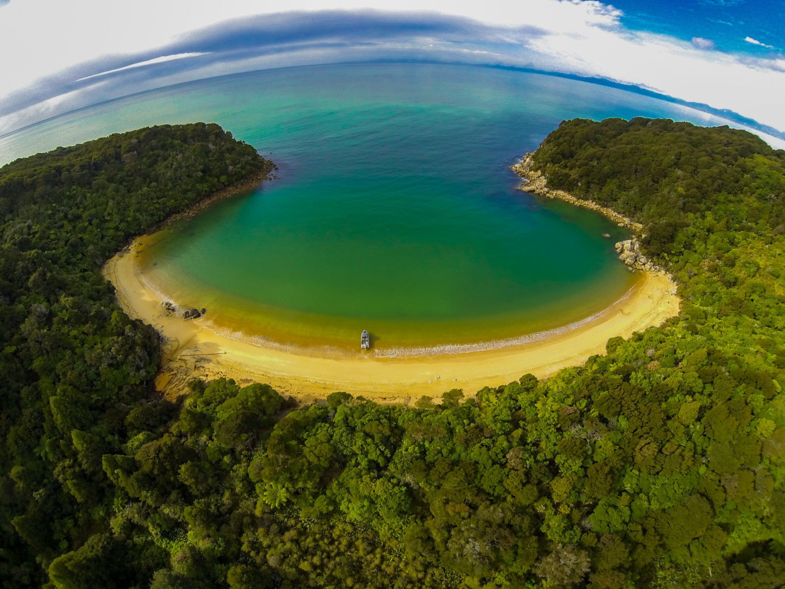 The Abel Tasman National Park